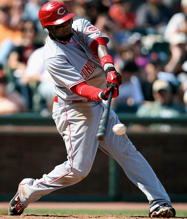 If you're planning to invest a Round 2 or 3 pick on Phillips, please be aware of the following: The statute of limitations for his monstrous 2007 season (30 HRs, 94 RBIs, 107 runs, 32 steals, .288 average) has just about expired. Translation: It's almost getting to the point where savvy fantasy owners can write Phillips off as a one-year fantasy dynamo ... and adjust his realistic rankings for this countdown. <br><b>Projections:<br> 22 HRs, 84 RBIs, 83 runs, 24 steals, .275 average.</b>
