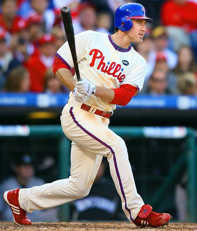 For the sake of posterity, try to block out Utley's 5-HR barrage in Games 1-5 of the '09 World Series. And then momentarily forget about his career-high 23 steals last season for the National League champs. With those high-profile omissions, Utley would still reign as the No. 1 second baseman. Put it all together ... and Utley is a realistic threat to crack the top-4 in mixed-league drafts -- ahead of Miguel Cabrera, David Wright, Ryan Howard, Tim Lincecum, Joe Mauer, Prince Fielder, Mark Teixeira and the next the guy in this countdown. <br><b>Projections: <br>28 HRs, 102 RBIs, 112 runs, 21 steals, .307 average.</b>