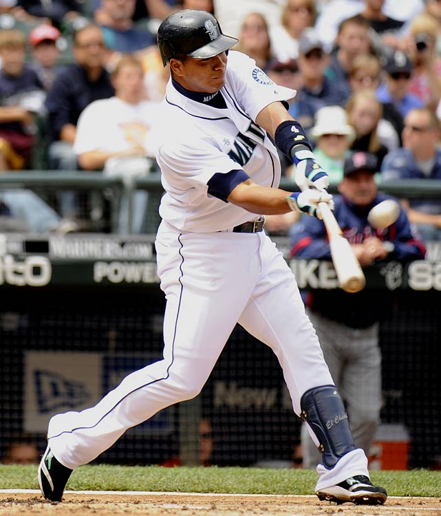 """This ranking is more of a reflection of Lopez's underrated fantasy value than his actual production (25 HRs, 96 RBIs, 69 runs in '09). Simply put, it's easy to fall off the proverbial radar when you play in Seattle and infamously stand as perhaps the Mariners' greatest source of power. We say """"infamously"""" for the following reason: It's quite possible that Seattle's projected starters (Casey Kotchman, Jack Wilson, Chone Figgins, Ichiro Suzuki, Franklin Gutierrez, Milton Bradley, Rob Johnson and Lopez) might not eclipse 50 combined homers this season and even if Lopez goes yard more than anyone, opposing pitchers will have little incentive to submit quality pitches. Translation: Expect fewer homers, fewer RBIs, more walks and more strikeouts."""