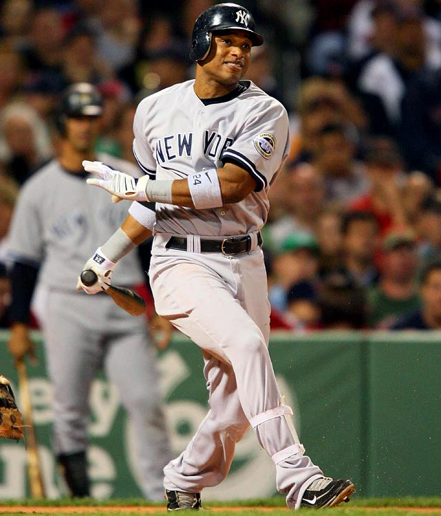 In AL-only leagues for Rounds 1-4, I value speed guys over one-trick-ponies in the power department; hence, I must move heaven and earth to draft Cano this year. Check out his sick numbers from 2009 -- .320 batting average, 103 runs, 25 homers -- it's a wonder he's not getting more preseason fantasy run than Gordon Beckham or Adam Jones; and it's a wonder why anyone would cast Cano in a negative light just because he's not a reliable source for 10-plus steals. Simply put, anytime after Round 3 is the perfect time to grab Cano, who could end up as the Yankees' MVP. <br><b>Projections: <br>24 HRs, 83 RBIs, 102 runs, 4 steals, .318 average.</b>