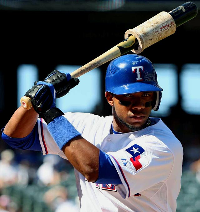 With the lightning-fast Julio Borbon in the Rangers' lineup, it's difficult for us to imagine Andrus eclipsing 40 steals this season. On the flip side, it's hard to fathom only six homers from the 21-year-old wunderkind. Put it all together, and Andrus should finish in the neighborhood of: <b>9 HRs, 48 RBIs, 87 runs, 34 steals and .274 average.</b>