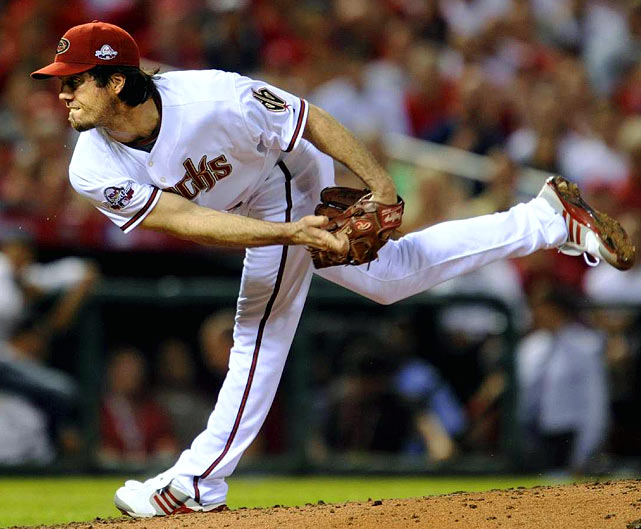 I used to chalk up Haren's infamous second-half struggles to youth and the Diamondbacks' lack of range on defense. But it's impossible to ignore a systematic regression for three straight seasons after the All-Star break. On the positive side, it's just as impossible to ignore the stellar numbers that hit the bottom line at season's end. (It goes without saying ... feel free to trade him in July). <br><b>Projections:<br> 15 victories, 211 strikeouts, 3.31 ERA, 1.08 WHIP.
