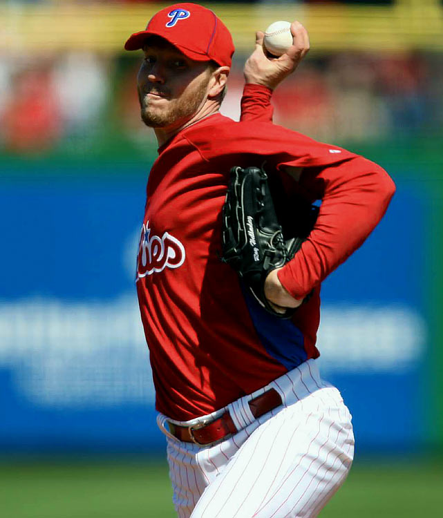 There is absolutely nothing to loathe about Halladay's fantasy prospects. He's a proven lock for 210-plus innings, 190 strikeouts, 17 wins, sub-3.00 ERA and eye-popping K/BB ratio every season -- regardless of his permanent mailing address. However, there has to be some form of a setback (albeit imperceptible to the human eye) when pitching up to 20 games at Philly's bandbox of a home park. <br><b>Projections:<br> 18 wins, 188 strikeouts, 3.12 ERA, 1.09 WHIP.