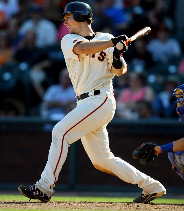The Giants decision to re-sign Bengie Molina tarnished Posey's 2010 fantasy shine. It would be surprising to see Posey in the majors in the first half given Molina's veteran presence and the fact the kid backstop only has 115 ABs above High-A. The Giants need Posey to receive regular ABs to ensure he continues to develop.