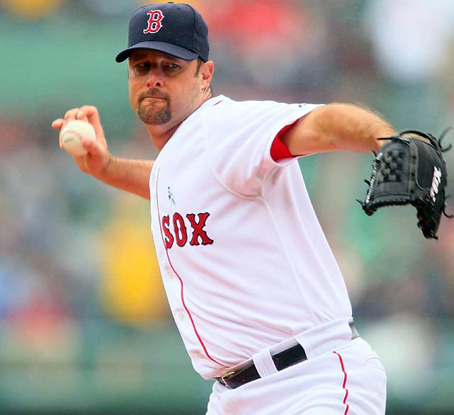 A 17-year vet and the longest tenured player on the 2010 Red Sox roster, Wakefield can top 200 wins with 11 this season. The notorious knuckleballer can also pass former ace Roger Clemens for most wins at Fenway Park with five more.