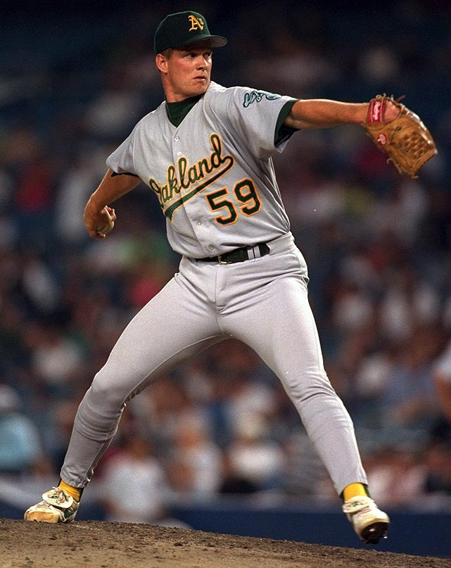 "Selected in the first round of the 1990 MLB Draft after being touted as the ""next Nolan Ryan,"" Van Poppel struggled right out of the gate. His best season with Oakland was a 4-8, 4.88 ERA campaign in 1995. He spent time with seven teams before retiring with a 40-52 record and no more than seven wins in any season."