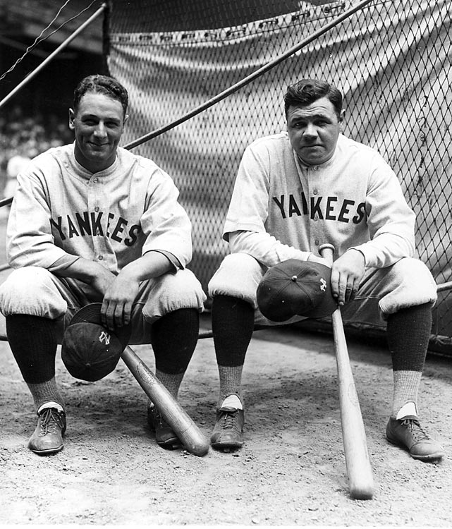 Murderers Row. The Yankees went 110-44, outscored opponents by 371 runs, and then ambushed Pittsburgh in the World Series. A couple of guys named Ruth and Gehrig hit 107 homers and scored 307 runs.
