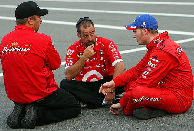 A disappointing end to 2008 and a disheartening 2009 season caused crew chief Tony Eury, Jr. to be pulled off of Earnhardt, Jr.'s team. Lance McGrew was tapped as Eury's replacement.