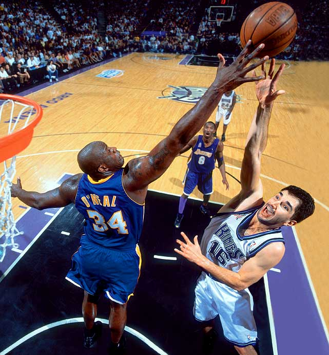 Northern California vs. Southern California, the Kings and Lakers met in the 2002 Western Conference finals, where the Lakers won in overtime in Game 7.