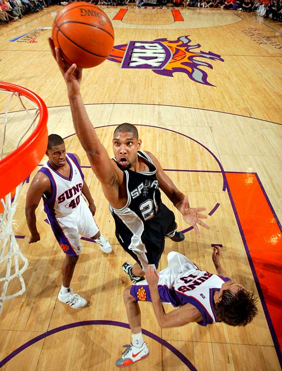 The Spurs and Suns met in the playoffs four times during the 1990s, and five times in the 2000s after the additions of Tim Duncan and Steve Nash, respectively.