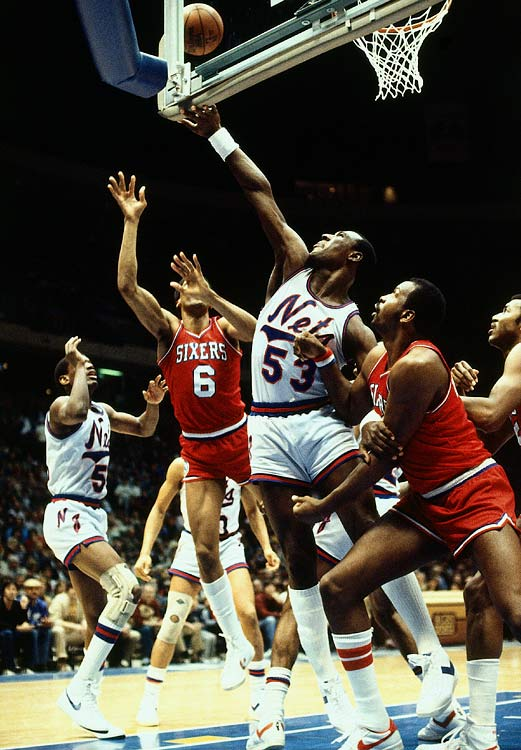 """The previous year, he set the record with 379 fouls. What's more impressive: """"Chocolate Thunder"""" is also the only NBA player to shatter two backboards in one month during a season (1979) with his massive dunks."""
