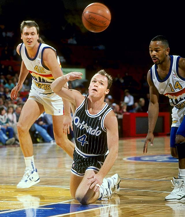 Skiles set the record on Dec. 30, 1990 during the Magic's 155-116 victory over the Nuggets. He broke Kevin Porter's previous record of 29 and went on to earn the NBA's Most Improved Player award that season.  No one has reached 28 in the past 15 seasons.