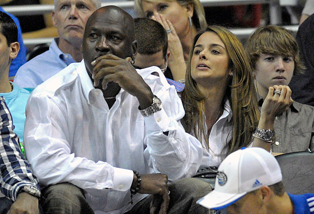 After divorcing Juanita Vanoy in 2006 and losing $168 million in the settlement, His Airness/Bobcats owner decided to give the whole marriage thing one more try. He proposed to longtime girlfriend and Cuban-American model, Yvette Prieto, on Christmas 2011.