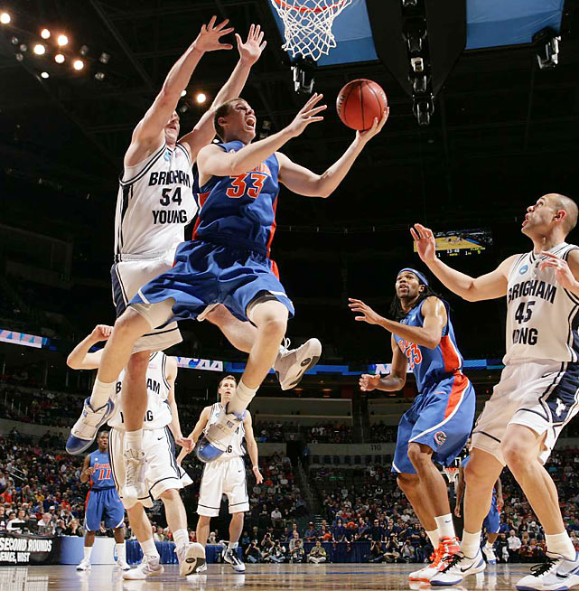 It took two overtimes, but No. 7 BYU managed to hold off Erik Murphy and the No. 10 Gators.