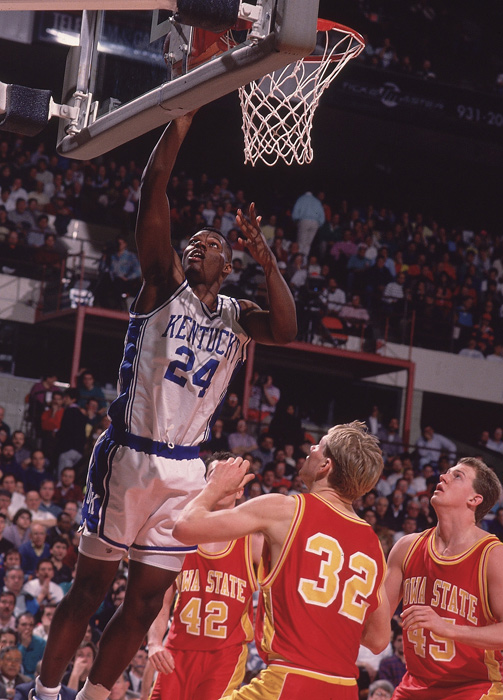 The year before Mashburn's arrival, Kentucky went 14-14 in Rick Pitino's first season. In Mashburn's three seasons, Kentucky went 81-17 and reached the 1993 Final Four. Mashburn averaged 18.8 points per game in his Kentucky career, was the 1993 SEC Player of the Year and helped set the stage for future runs at the national title.