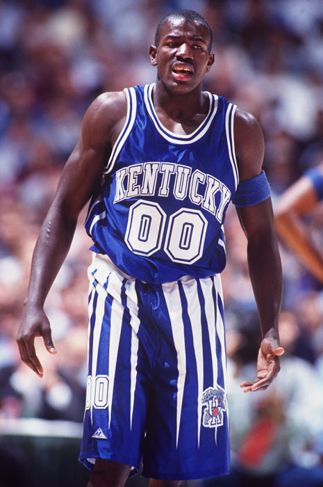 The 1995-96 Wildcats were supposed to have too much talent -- too many egos -- for their own good. Instead, led by point guard Delk, Kentucky earned the school's sixth national title. Delk drained seven three-pointers in the 1996 championship game against Syracuse, en route to a 29-point, 10-assist performance and the Final Four's Most Outstanding Player award.