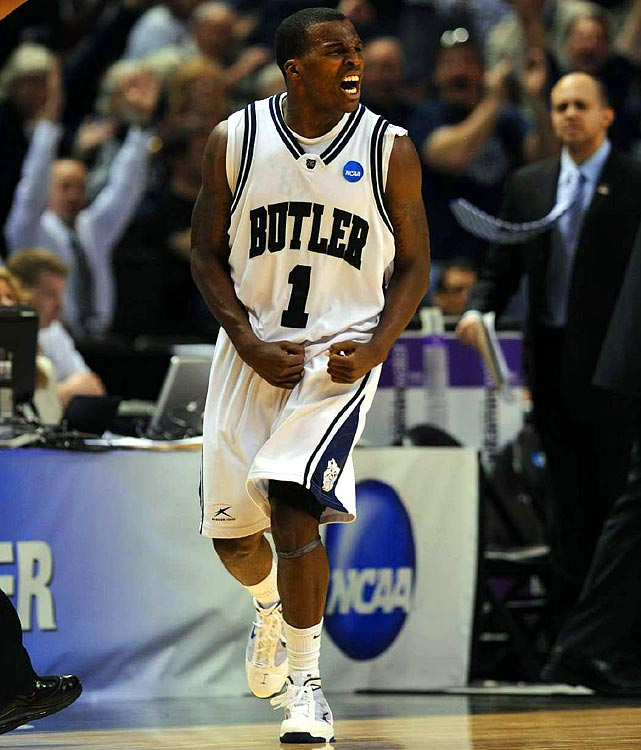Shelvin Mack helped the Bulldogs advance in the  tournament for the third time in four years.
