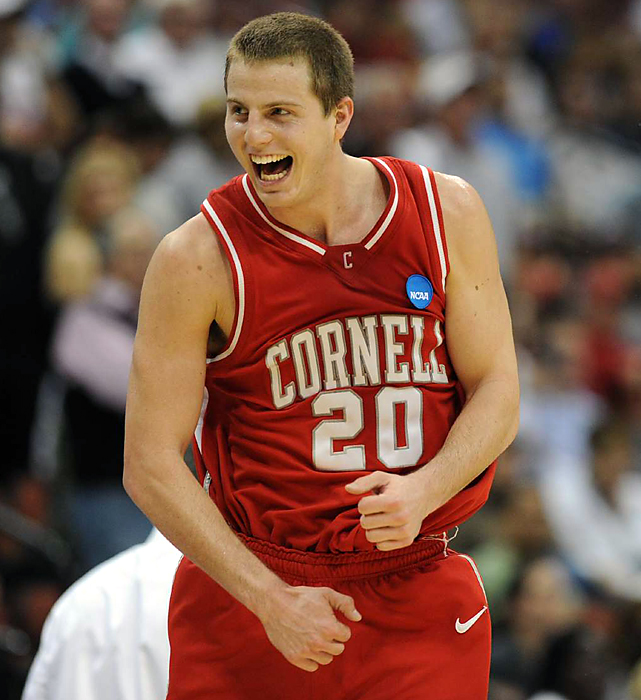 Ryan Wittman is all smiles after scoring 20 points in Cornell's 78-65 win over Temple Friday.