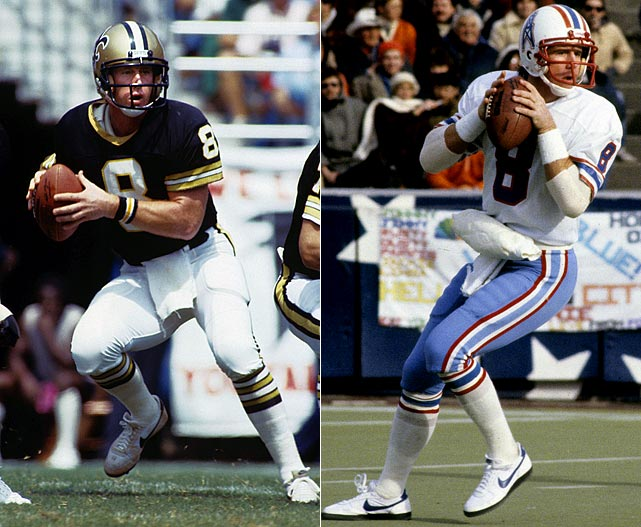 After suffering through a deluge of losing in New Orleans, Manning was dealt to the Oilers, who promptly went 1-8 during the strike-shortened 1982 season. Things did not get much better as Manning's teams (including the Vikings) were a combined 6-35 during his final three seasons.