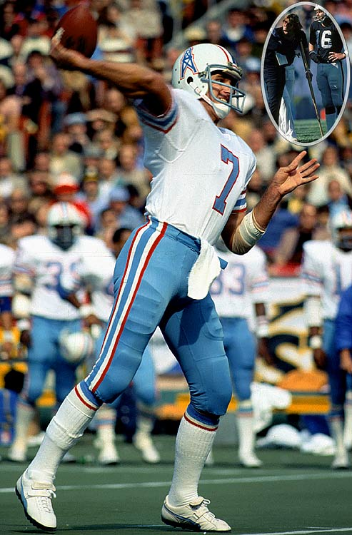 A solid performer for Houston, Pastorini was expected to be the answer in Oakland, but a broken leg opened the door for Jim Plunkett to take over and become a Super Bowl hero for the Raiders.