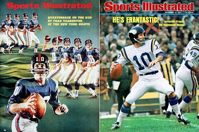 Scramblin' Fran's return to Minnesota after five seasons with the Giants sparked a run of three Super Bowl appearances and six consecutive NFC Central titles. Tarkenton was the 1975 NFL MVP with the Vikings.