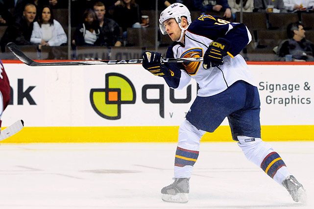 """Go figure. The """"NHL-ready prospect"""" portion of the Ilya Kovalchuk trade has actually outscored the crafty Russian, notching six goals and eight points since taking his place in the Thrashers' lineup on Feb. 5...and he's done it while switching from right to left wing. Barring a spectacular stretch run, Bergfors will be a Calder also-ran, but his 19 goals and easy chemistry with new linemates Nik Antropov and Bryan Little hint at the potential for an explosive sophomore campaign."""
