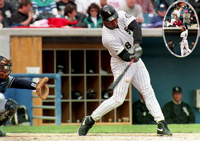 One of the best two-sport professional athletes ever, Bo Jackson made a highly anticipated return to baseball in 1993, following hip replacement surgery. He homered on his first swing in his first at-bat and finished the year with 16 homers and 45 RBI. But it was clear that his best days were behind him.