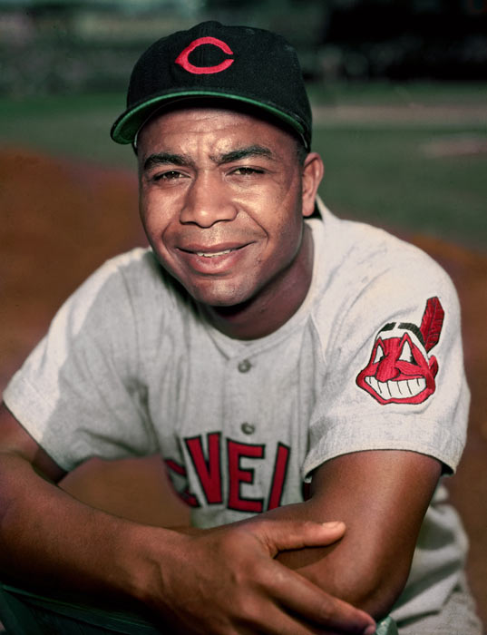 Larry Doby becomes the first black player in the American League to be elected to the Baseball Hall of Fame.