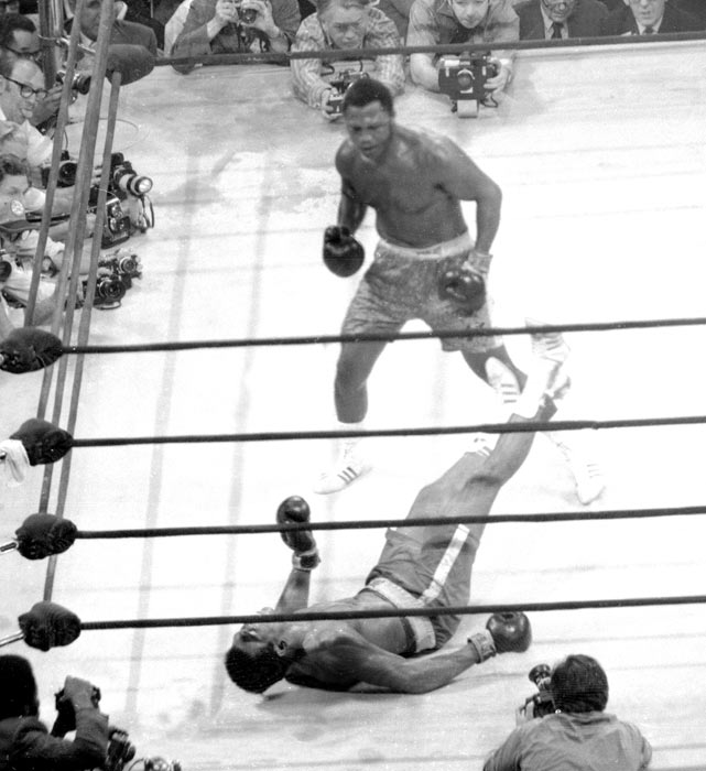 Joe Frazier retains his world heavyweight championship by defeating Muhammad Ali in a 15-round decision. It was Ali's first loss in 32 professional fights.