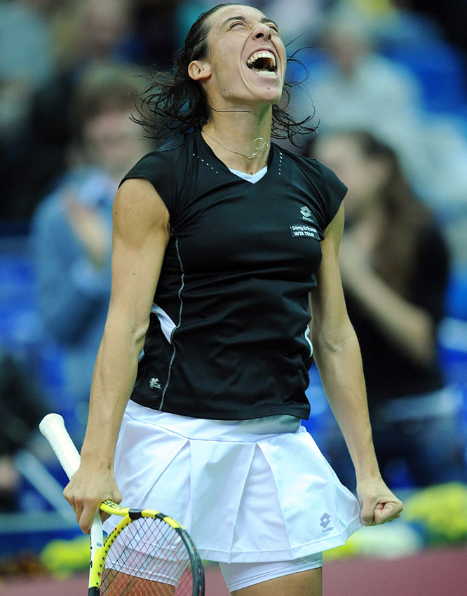 def. Roberta Vinci, 6-1, 6-1 WTA International, Clay, $220,000 Barcelona, Spain