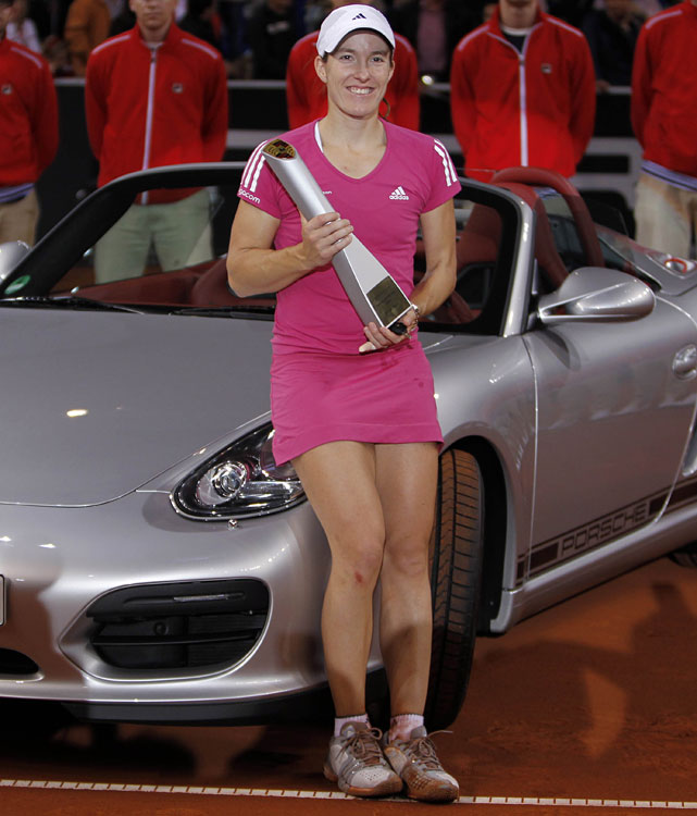 def. Sam Stosur, 6-4, 2-6, 6-1 WTA Premier, Clay, $700,000 Stuttgart, Germany