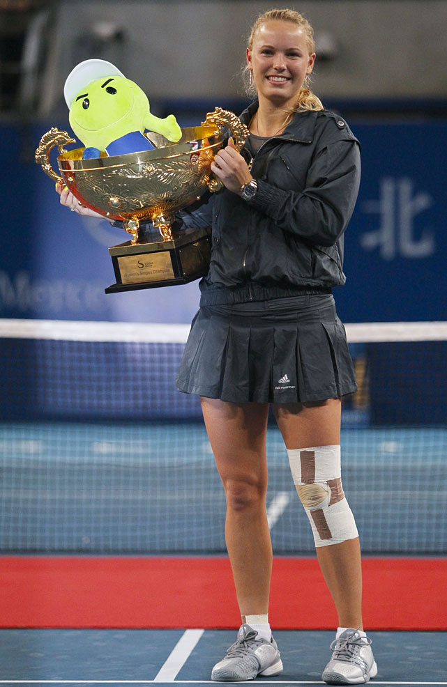 def. Vera Zvonareva, 6-3, 3-6, 6-3 WTA Premier, Hard, $4,500,000 Beijing, China