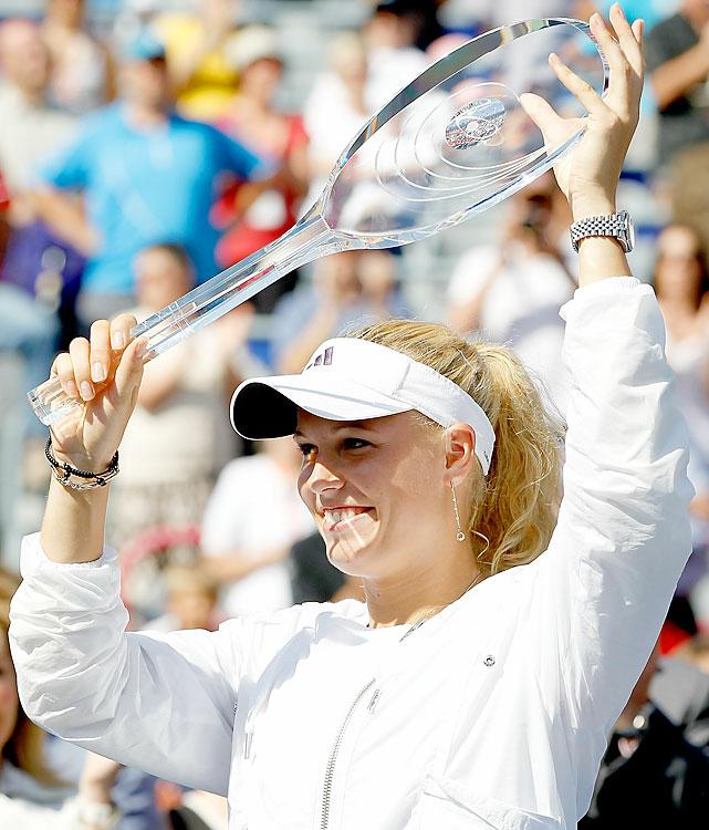 def. Vera Zvonareva, 6-3, 6-2 WTA Premier, Hard, $2,000,000 Montreal, Canada