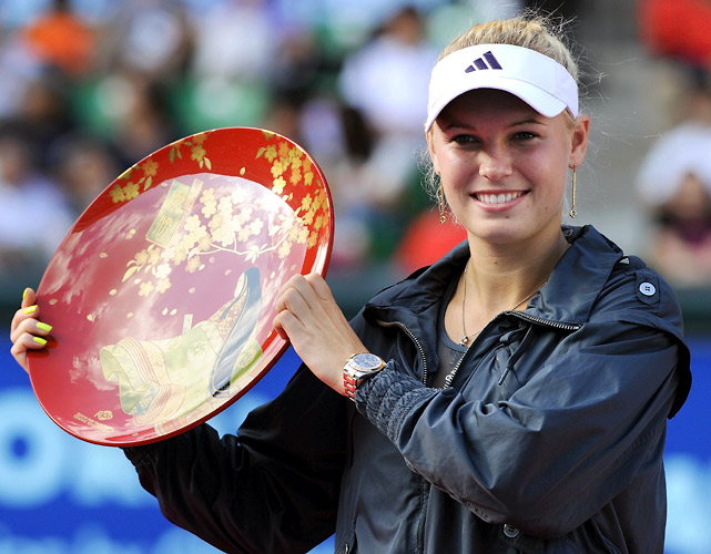 def. Elena Dementieva, 1-6, 6-2, 6-3 WTA International, Carpet, $2,000,000 Tokyo, Japan