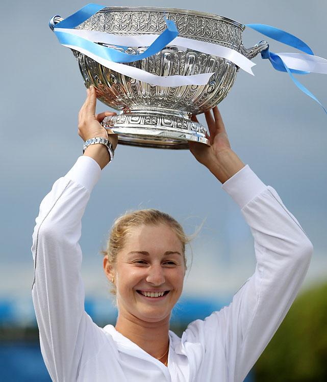 def. Victoria Azarenka, 7-6 (5), 6-4 WTA Premier, Grass, $600,000 Eastbourne, United Kingdom