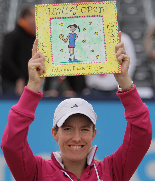 def. Andrea Petkovic, 3-6, 6-3, 6-4 WTA International, Grass, $220,000 S-Hertogenbosch, Netherlands