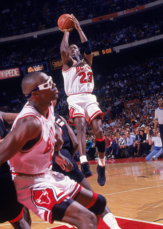 The Bulls legend and current Bobcats owner won the MVP award five times in his career, but he won two consecutively in 1991 and '92. His second trophy came after he averaged 31.5 points, 6.0 rebounds and 5.5 assists per game and led the Bulls to an NBA Finals win over the Lakers.
