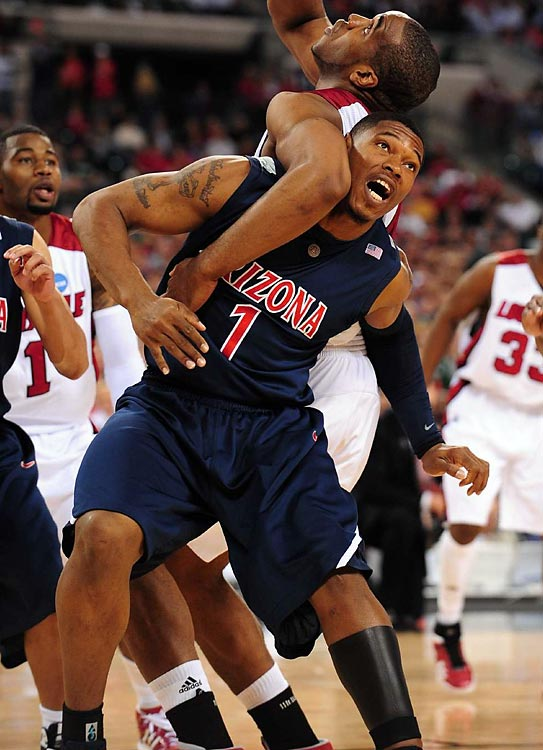 Fendi Onobun was a McDonald's All-America nominee in basketball coming out of high school, and was a prized recruit of Lute Olsen at Arizona.