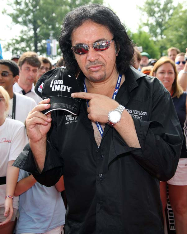 "The bassist of KISS is more than a rock star. As owner of Simmons Abramson Marketing Simmons helped promote and market various programs involving the IndyCar Series utilizing the slogan ""I am Indy"" as the series anthem."