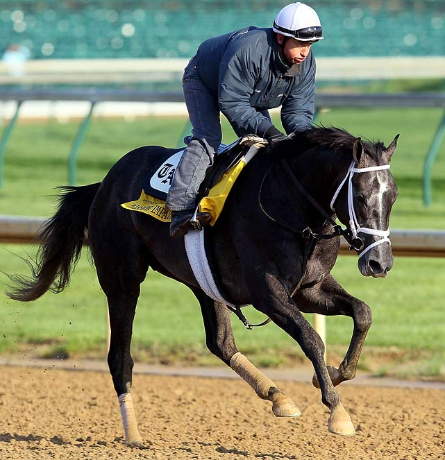 Starter No. 3 for Todd Pletcher. A $200,000 yearling purchase in the fall of 2008 and a son of the distinguished Unbridled's Song, Mission Impazible rallied from off the pace to win the March 27 Louisiana Derby by three-quarters of a length. Only one of the beaten horses from that day, the Pletcher-trained Discreetly Mine, has made it to the Kentucky Derby.