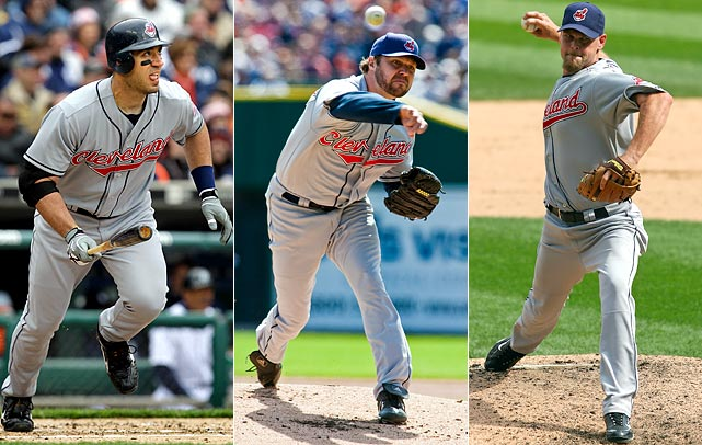 Highest salaries:  Travis Hafner: $11.5 million Jake Westbrook: $11 million Kerry Wood: $10.5 million