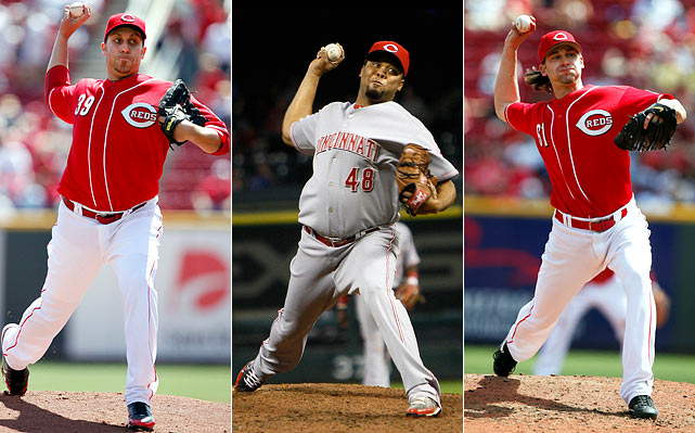 Highest salaries:  Aaron Harang: $12.5 million Francisco Cordero: $12.13 million Bronson Arroyo: $11.6 million