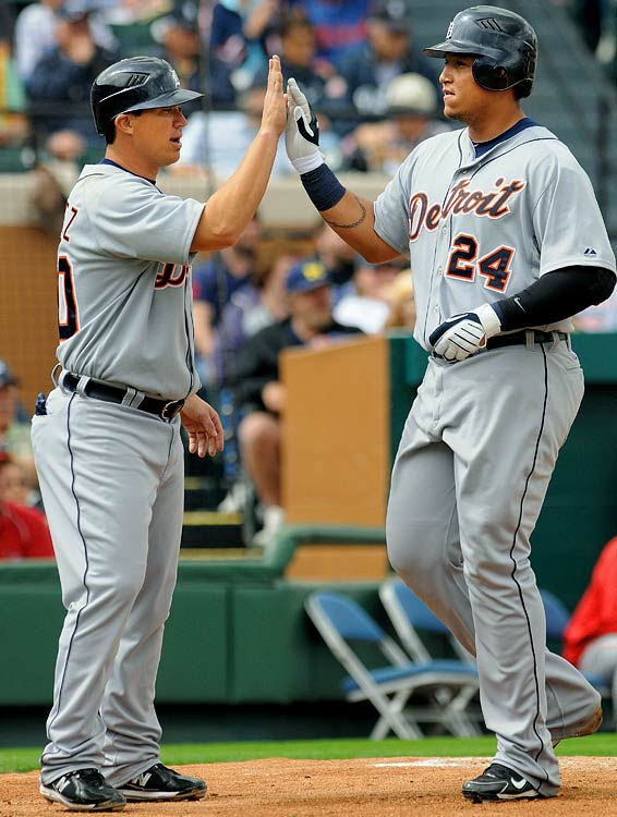 Highest salaries: Miguel Cabrera: $20 million Magglio Ordoñez: $17.8 million