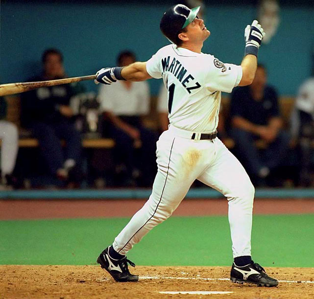 Ken Griffey Jr. scored from first base on Edgar Martinez's two-run double off Jack McDowell in the 11th inning of Game 5 of the 1995 ALDS to complete an 0-2 series comeback for Seattle against the Yankees.