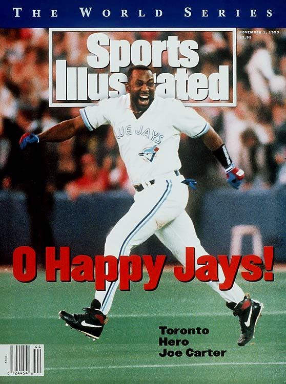Joe Carter locked up the Blue Jays' second straight world championship with a walkoff home run in Game 6 against Phillies closer Mitch Williams during the '93 World Series.