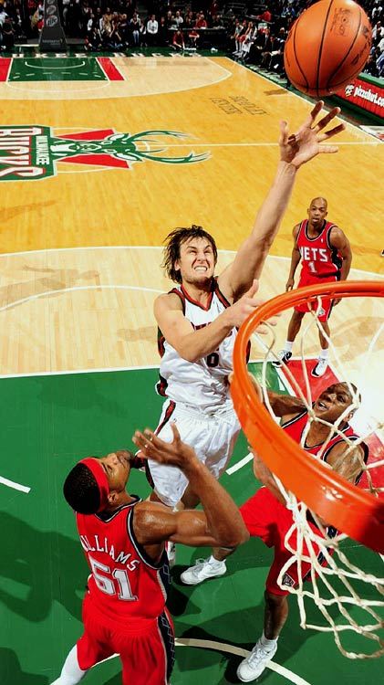 Before suffering a season-ending injury on April 3, fifth-year center Andrew Bogut was averaging career highs of 15.9 points and 2.5 blocks to go with 10.2 rebounds for the overacheiving, playoff-bound Bucks.