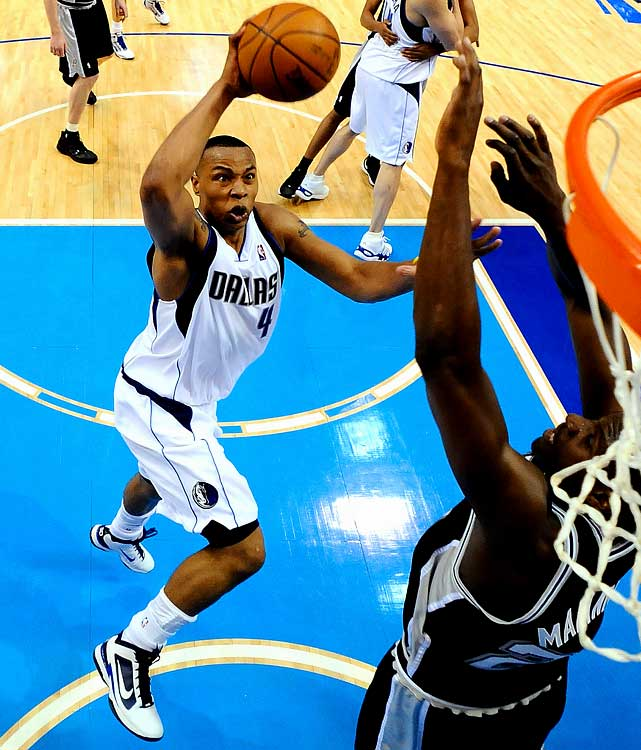 With the Mavericks facing elimination in Game 5 after three straight losses to the Spurs, it was Caron Butler, not superstar Dirk Nowitzki, who willed Dallas to a victory. Butler posted 35 points, 11 rebounds and 3 steals in a 103-81 win. More important, he energized the Mavs on a night when Dirk shot just one free throw.