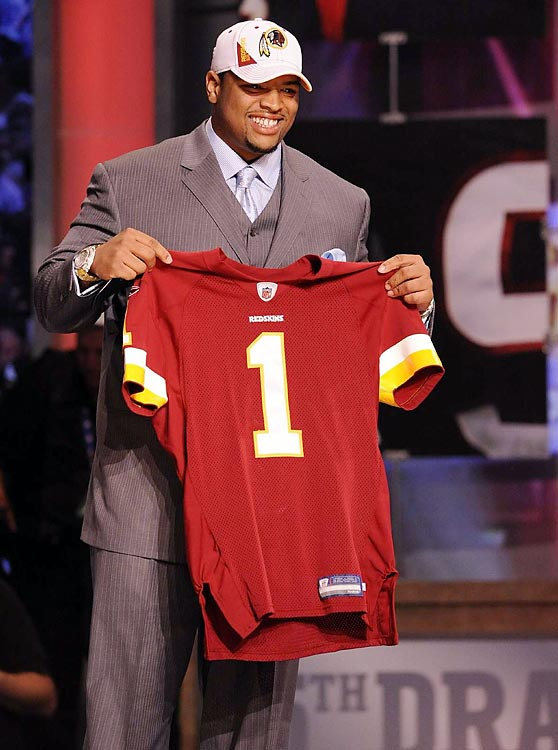 New Redskin Trent Williams was the third player from Oklahoma taken in the first four picks.