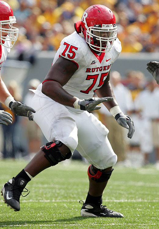 Davis is big, athletic, and has quick feet and long arms, making him an ideal specimen for NFL left tackle. Davis is better in pass protection than run-blocking, and has been praised for having great hands as a blocker. Yet Davis struggled with his weight in the college ranks, fueling concern over his self-discipline.