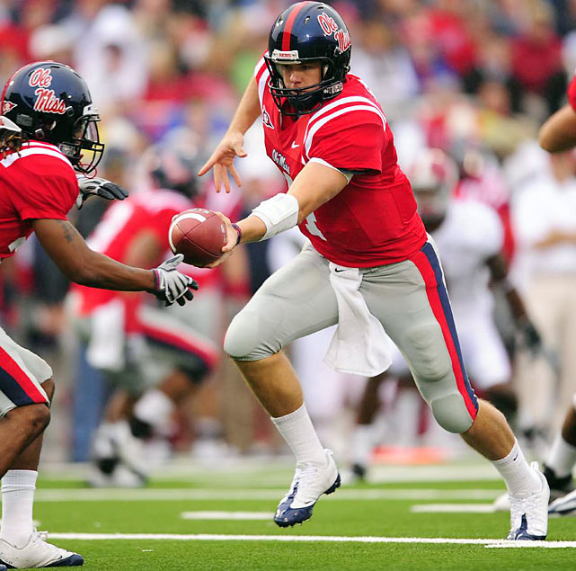 Snead was projected as a top-2 quarterback prospect (with Sam Bradford) at the outset of the 2009 season, but an inconsistent year turned his draft stock upside down. Snead opted for this year's draft despite still having one year of eligibility remaining and the hope from Ole Miss head coach Houston Nutt that he would return.